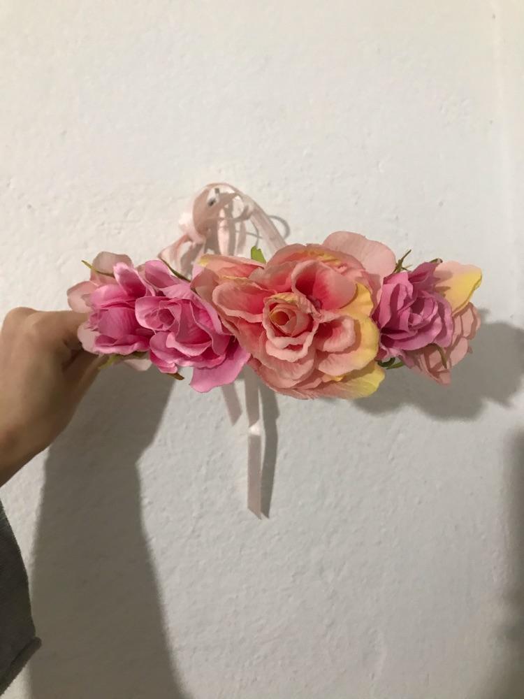 Couronne en fleur pour mariee