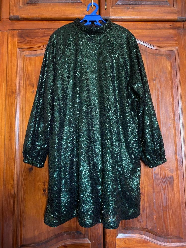 Robe paillette h&m