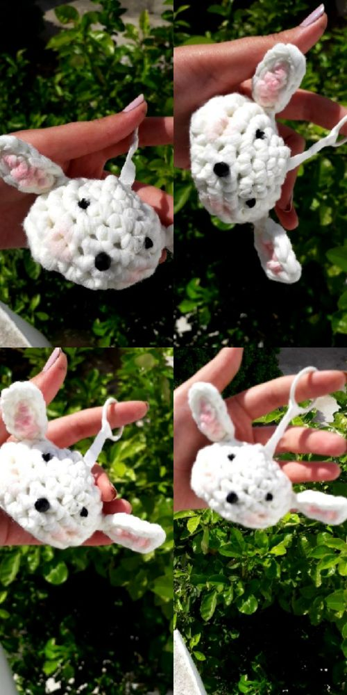 Porte clé made by me en crochet 10 dt khw