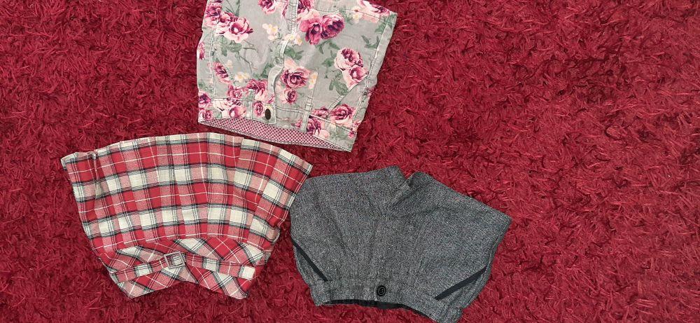 Deux jupes et un short fillette ilabsou 2 ans et 3 ans
