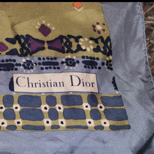Foulard CRISTIAN DIOR authentique