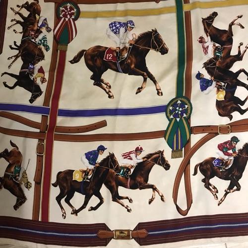 Foulard longchamp authentique
