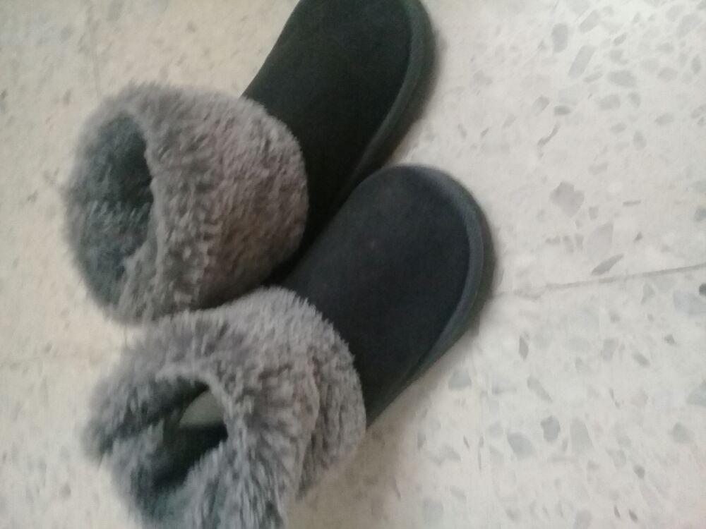 Chaussures gris pour fille