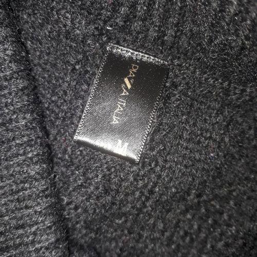 Jupe en laine droite