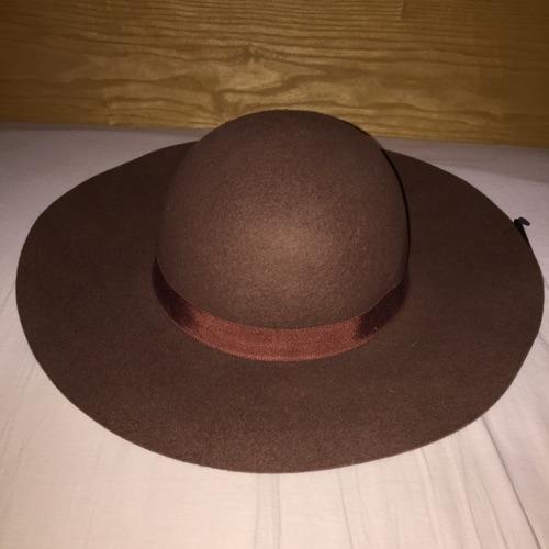 Floppy brown hat forever 21