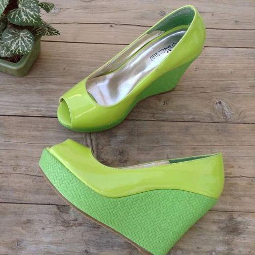 Chaussure pistache