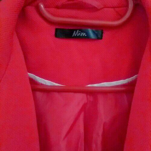 Blazer rouge orange
