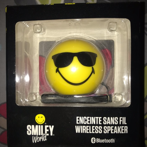 Enceinte bluetooth Smiley