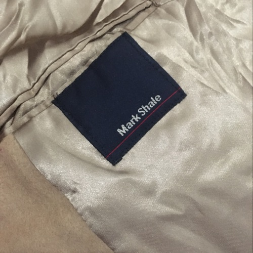 Cashmere trench Coat Mark Shale