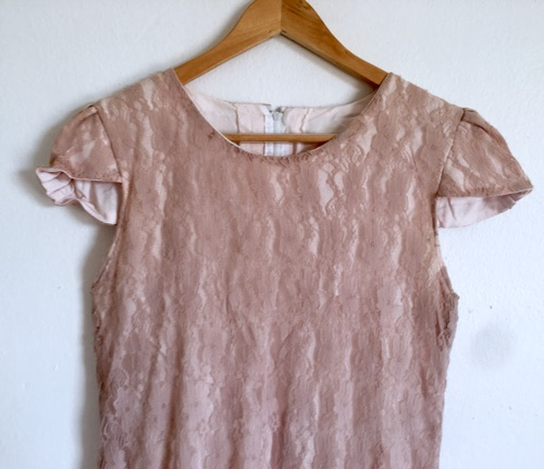 Robe taille M , rose poudré
