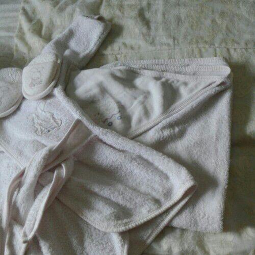 Cap de bain sortie de bain et chausson de nain