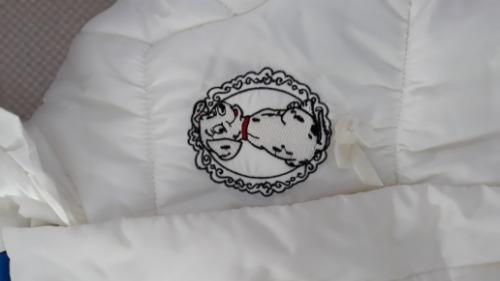Doudoune blanc