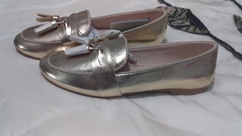 Chaussure doré fille