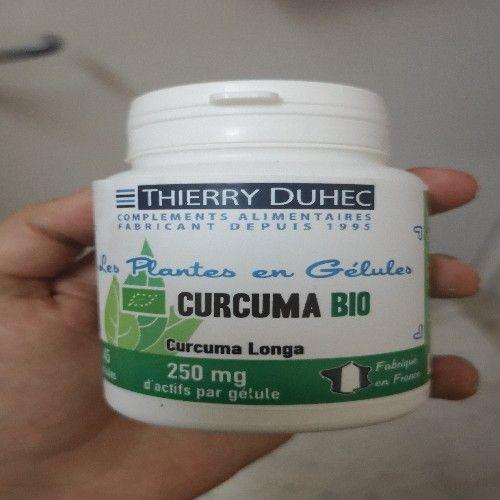 Complément alimentaire curcuma