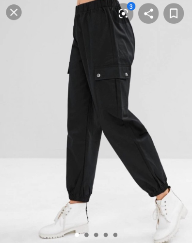 Pantalon style cargo femme