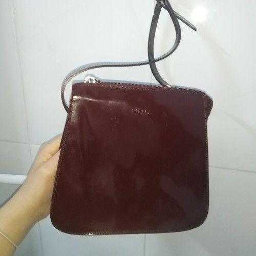 Jolie sac furla rouge bourdeaux