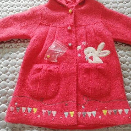 Manteau bébé fille 6 mois neuf DPAM