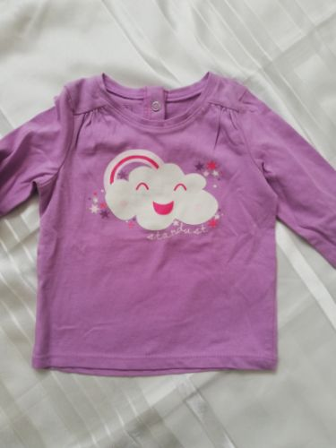Pull manches longues neuf pour fille 74cm