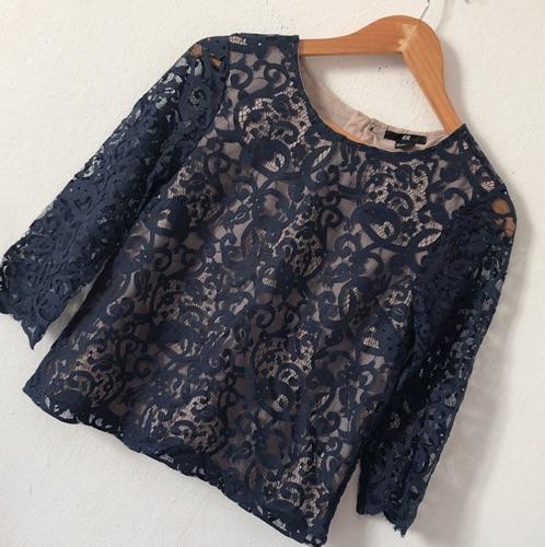H&M blouse dentelle