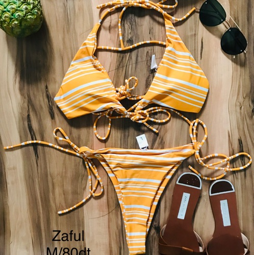 Bikini zaful jaune moutarde m/L