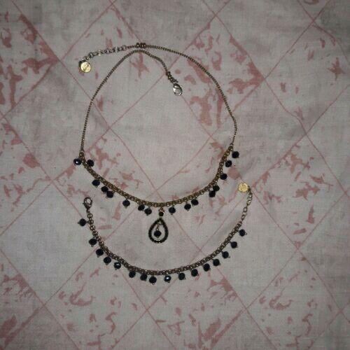 Jolie Collier et bracelet