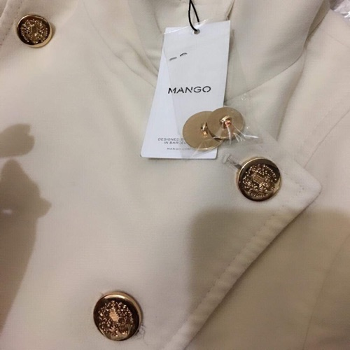 Manteau long MANGO tt neuf t 42/44