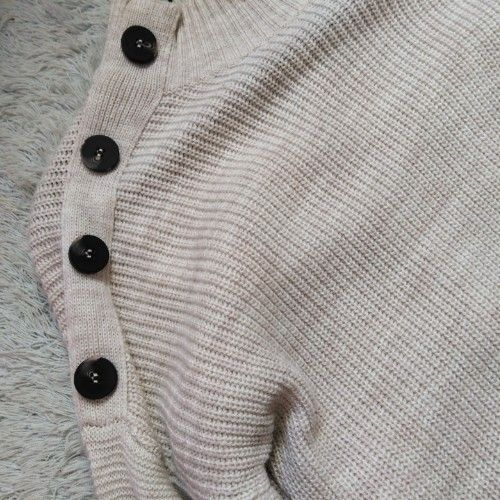 Beige knit sweater lc waikiki