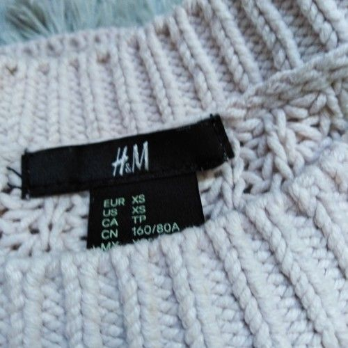 Knit sweater h&m rose poudré taille 34/36