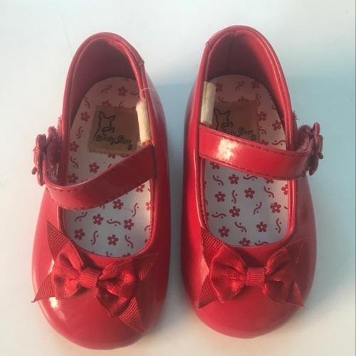 Ballerine rouge vernis