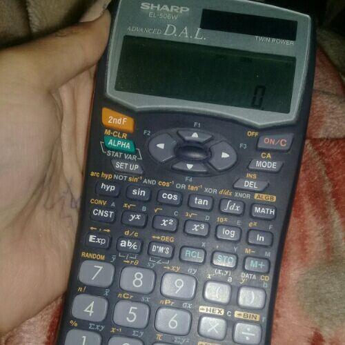 Calculatrise sharp sans défaut