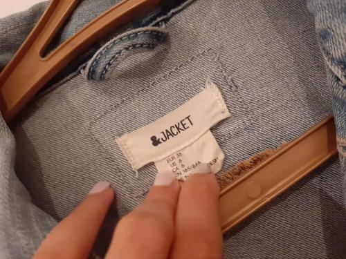 Veste jean tendance à petit prix