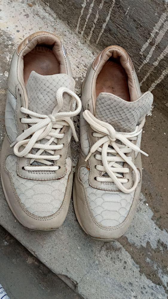 Baskets gris