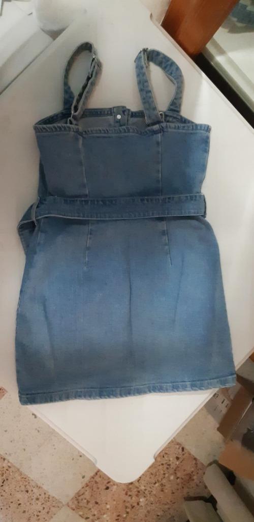 Robe Bershka courte en jean