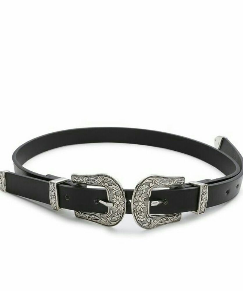 Belt double buckles