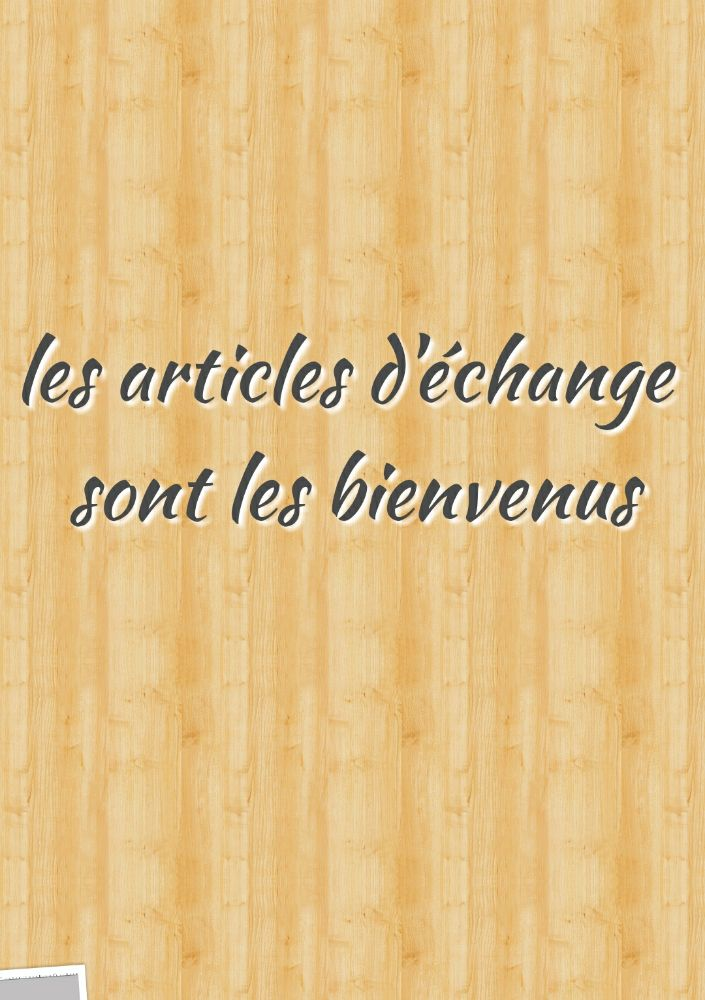 Echange!!