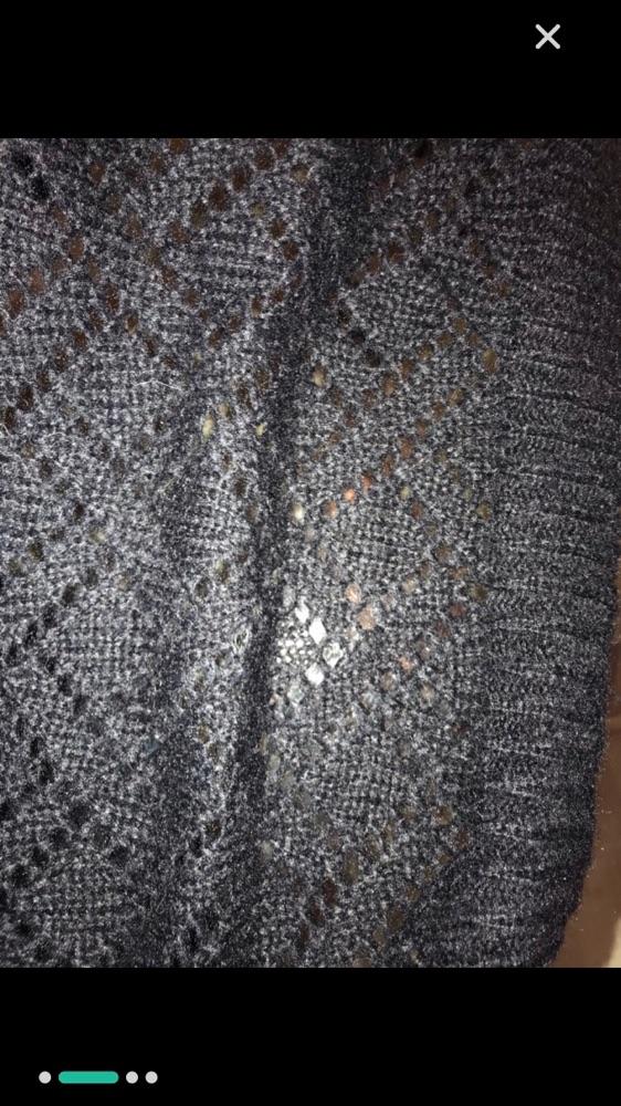 2 cache col en laine (blanc et noir)