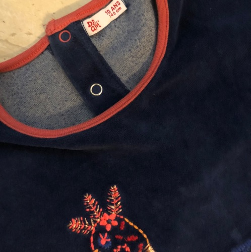 Pyjama velour DPAM