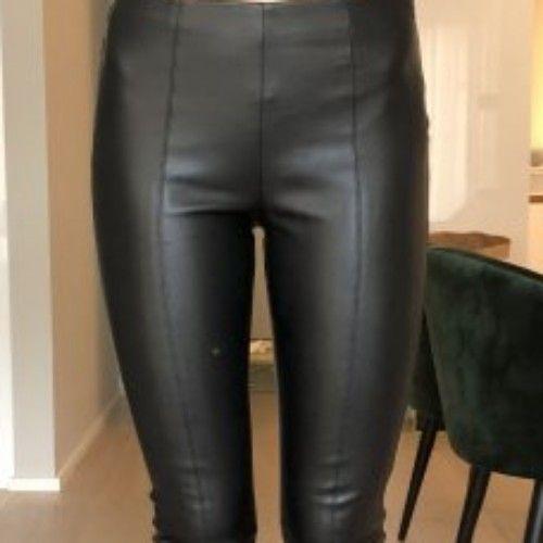 Pantalon cuir bershka