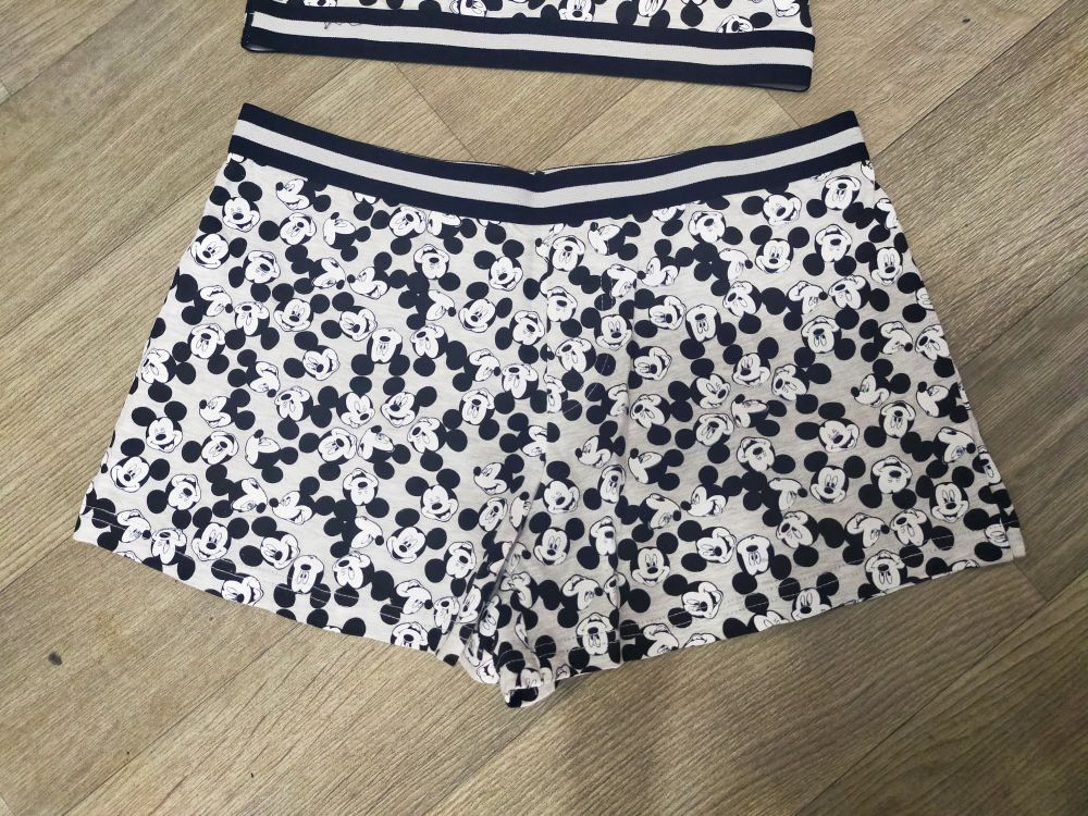 Top et short Mickey