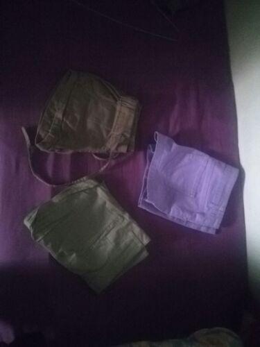 Lot de 3 shorts