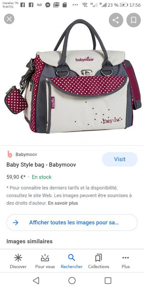 Sac maman multifonctions de la marque babymoov