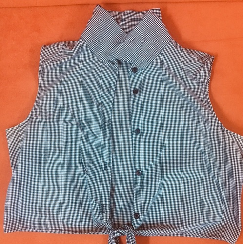 Chemise avec noeud taille XL
