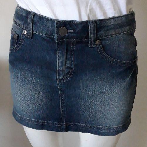 Jupe jean benetton