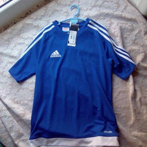 T-SHIRT Adidas bleu taille 13-14 a s neuf et importé