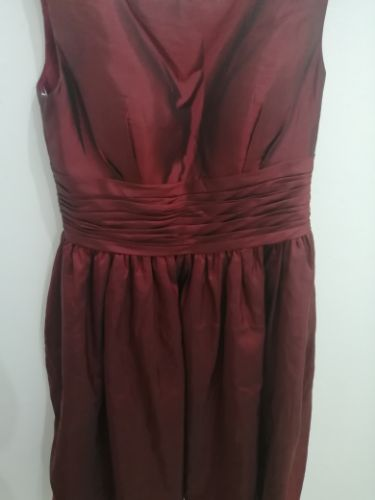 Très belle Robe soirée Bordeaux irisé