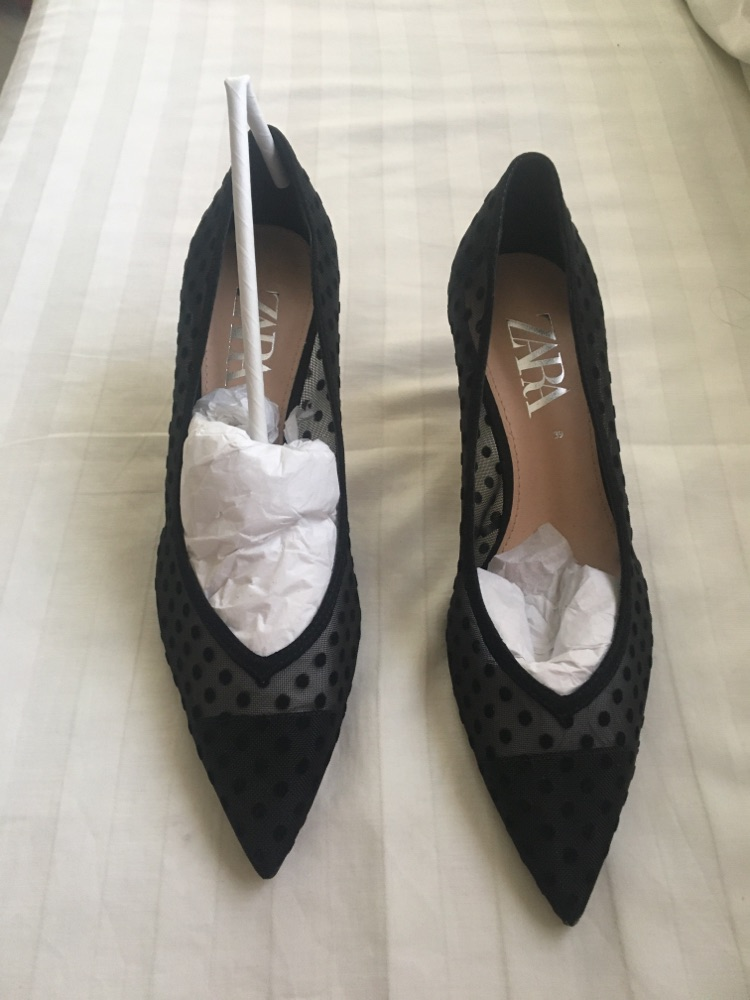 Chaussure noir zara pointure 39